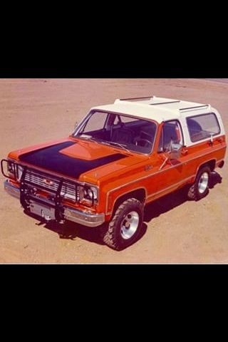Lifted 1977 Chevrolet Blazer Cheyenne Offroad Camionetas