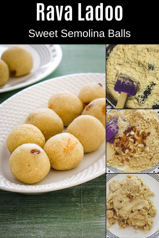 Rava Laddu Ladoo With Condensed Milk Spice Up The Curry Recipe In 2020 Rava Laddu Recipe Easy Ladoo Recipe Diwali Food