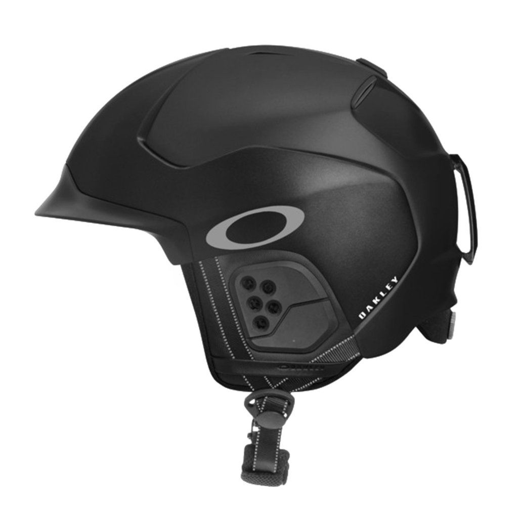 Shop Oakley Oakley Factory Pilot Snow Helmet in MATTE BLACK at the official Oakley  online store. 5a9904f224