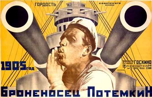 Sergei Eisenstein's 1925 silent film Battleship Potemkin DIEULOIS