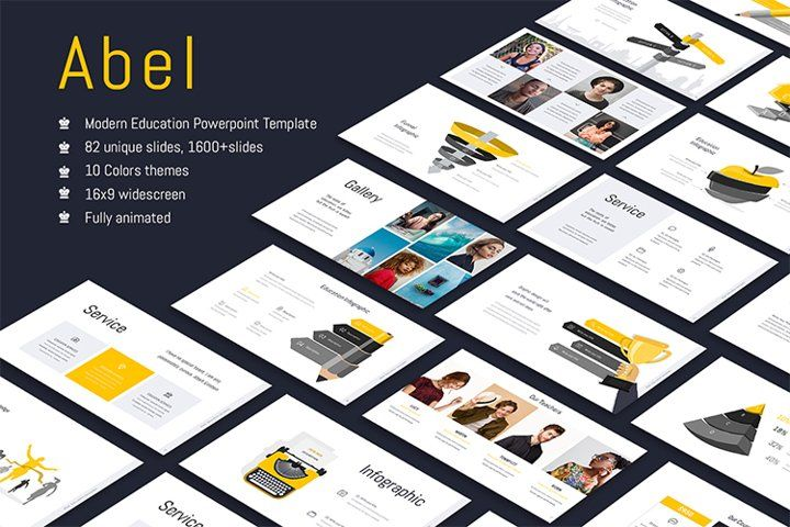 48 Best powerpoint education template for May 2020