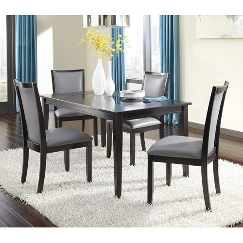 Ashley Furniture Trishelle 5Piece Rectangular Dining Table Set Inspiration Ashley Dining Room Table Set Design Decoration