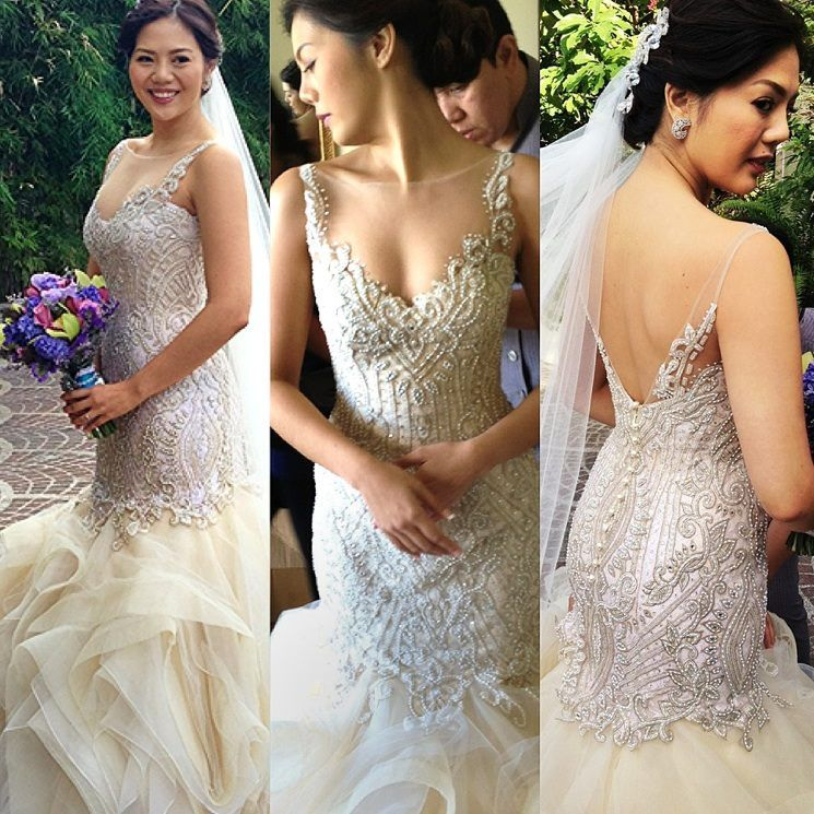 Veluz Gown : November 10 Bride | It is not my type of gown but it\'s ...