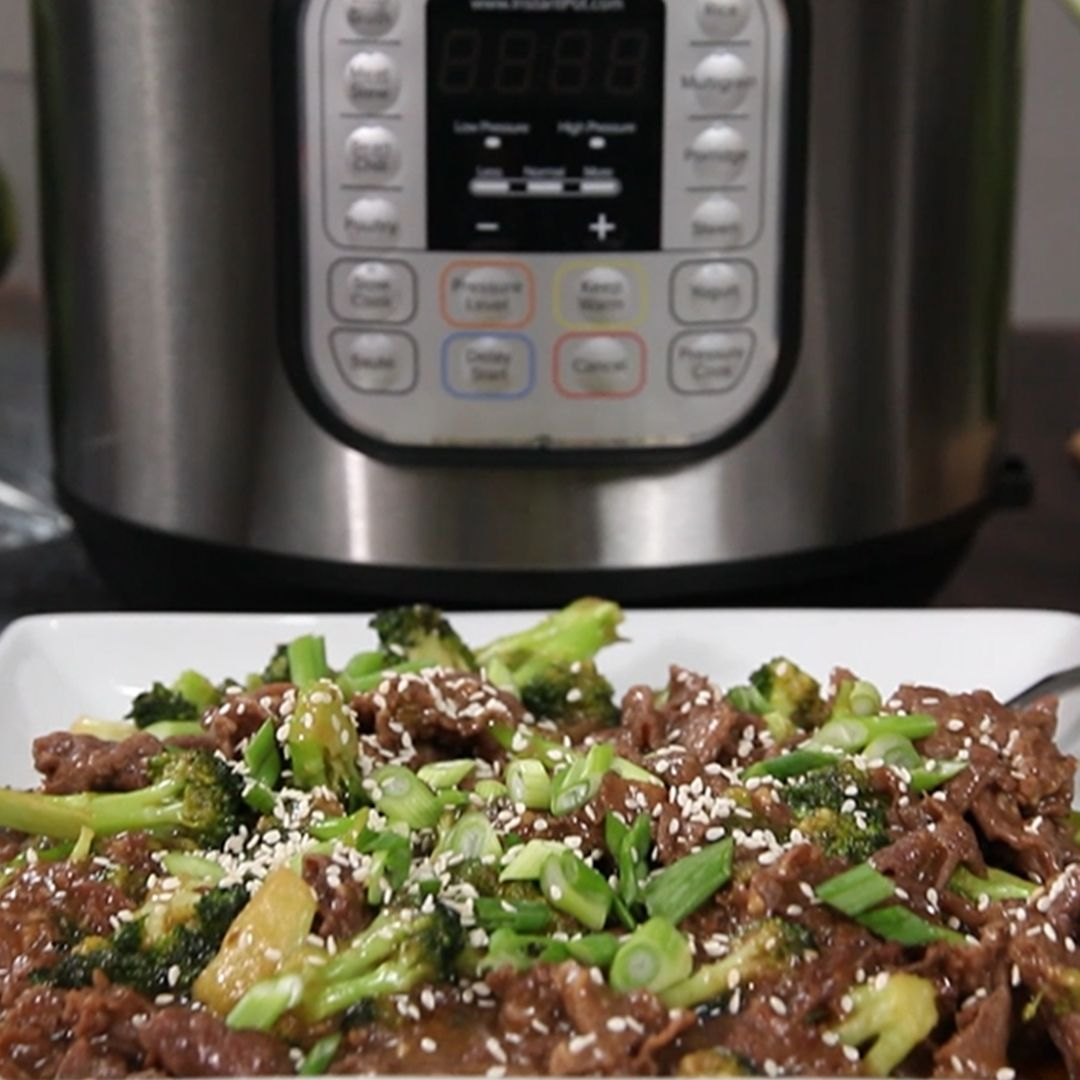 Better-Than-Takeout Beef and Broccoli - Instant Pot Recipes