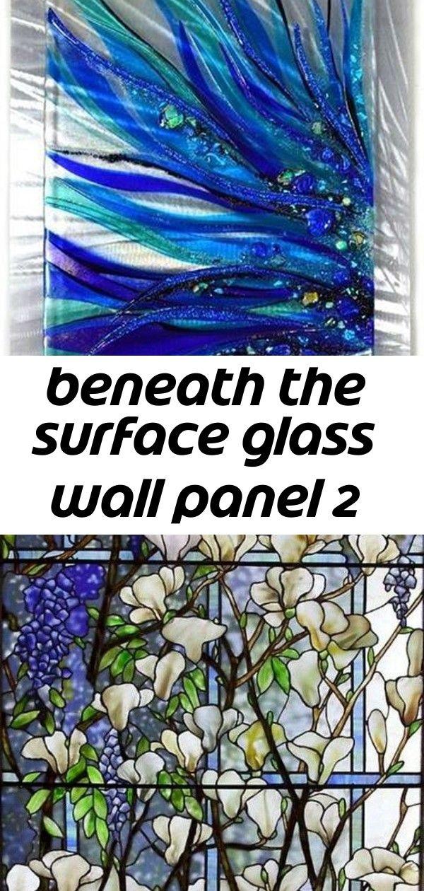 Photo of Unter der Oberfläche Glaswandplatte 2