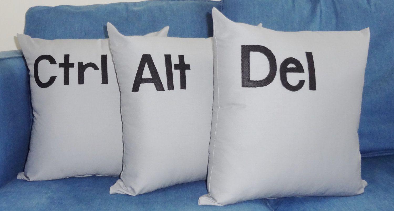 Control Alt Delete Pillows Ctrl Del