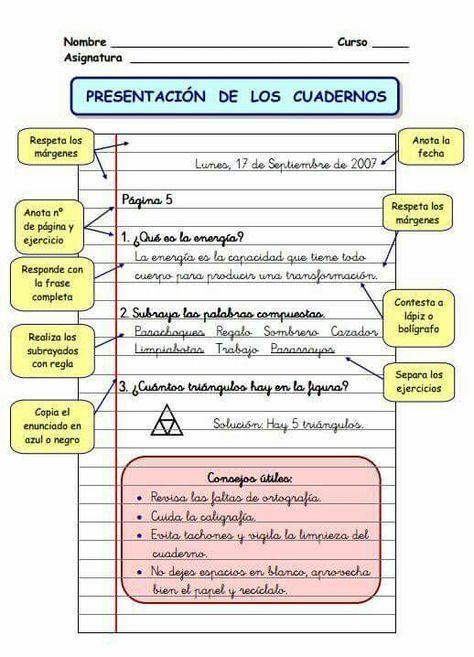 Presentación del cuaderno | lengua | Pinterest | Educacion ...