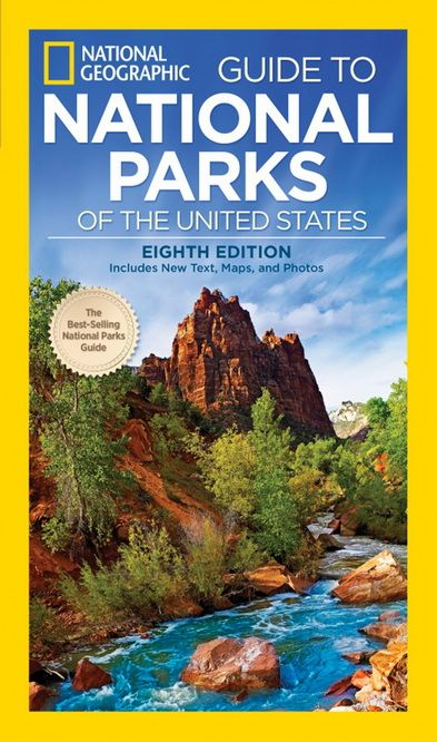 National Geographic Guide to National Parks of US: Review & Giveaway