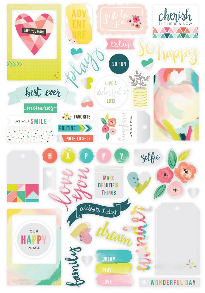 Updated With The Giveaway Winner Congratulations Danielle Please Email Me P Scrapbook Printables Free Free Planner Stickers Scrapbook Stickers Printable
