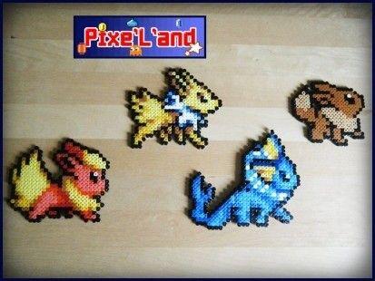 Th me evoli et volution pokemon pixel art perle hama - Pokemon perle evolution ...