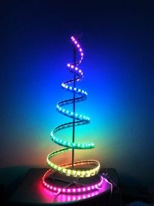 Christmas Led Strip Lights.Diy Led Christmas Tree Uses Kmart Special Lpd8806 Led Light