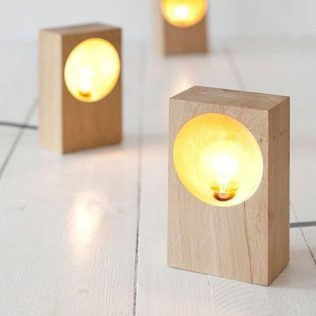 34 Wood Lamps You'll Want to DIY Immediately #wood