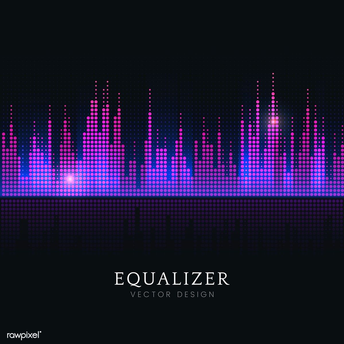 Download Free Vector Of Colorful Sound Wave Equalizer Vector Design By Kappy Kappy About Sound Wave Box Colorful Vector Design Sound Waves Design Sound Waves