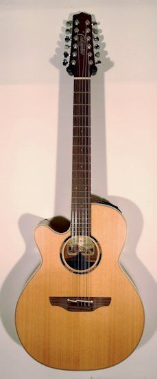 left handed takamine etn40c12 left handed takamine 12 string guitar guitars bass. Black Bedroom Furniture Sets. Home Design Ideas
