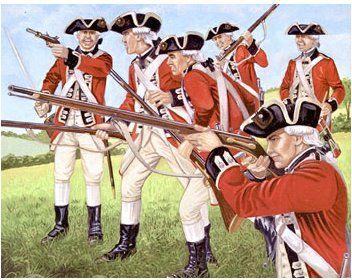 Revolutionary War British Soldiers