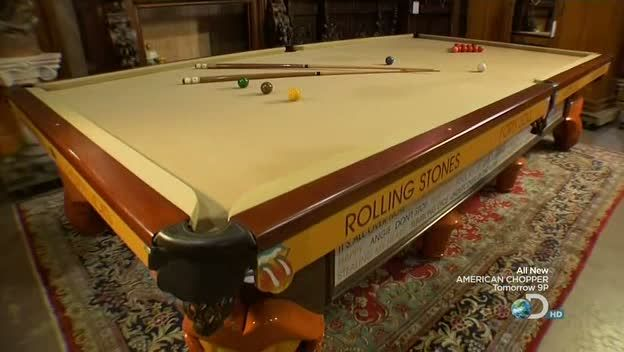 Pin By Liv Rigdon On Ruined Pinterest Rolling Stones - Stone pool table