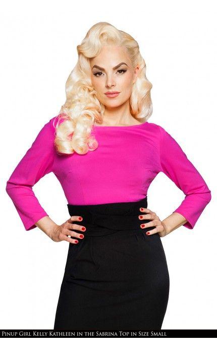 Sabrina Top in Pink