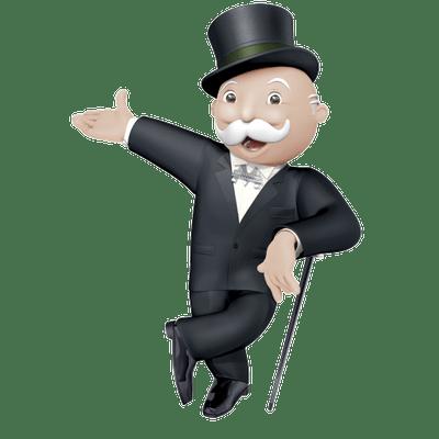 Monopoly Man Transparent Png