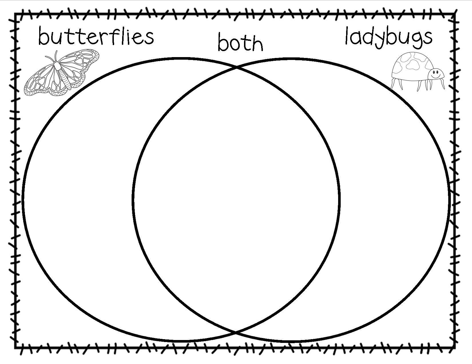 Displaying Butterfly Ladybug Venn