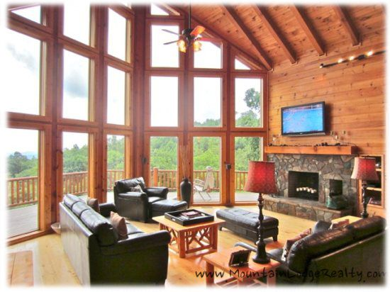 nc boone blowing cabin orig arbor rock log cabins rentals rental in den kitchen picture of vacation