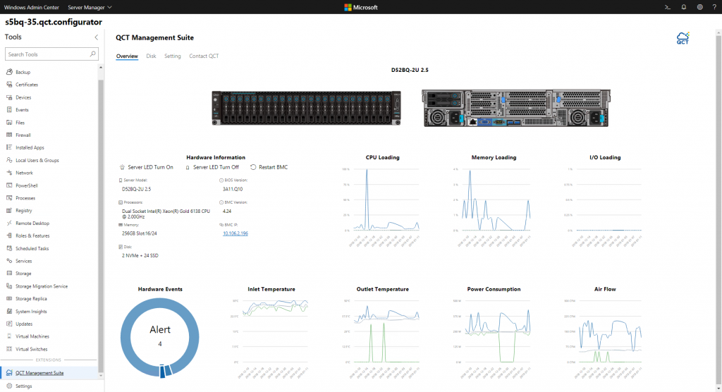Announcing Windows Admin Center Preview 1902 and the QCT server