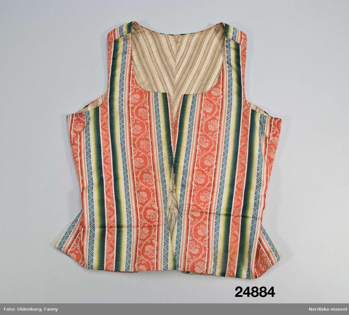 2f4d92e45e81 Livstycke @ DigitaltMuseum.se   1700-tal   Sweden, Folk costume och Tops