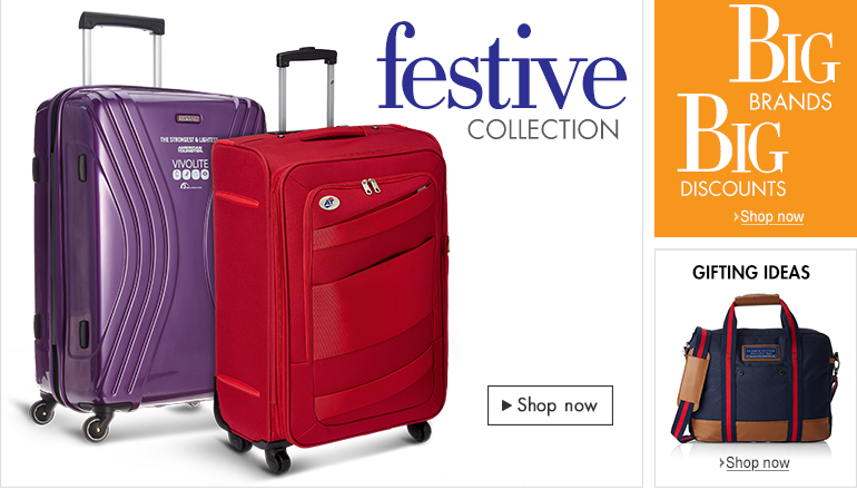 Check Out Discounts on Luggage and Bags on Amazon India http://www.amazon.in/s/?_encoding=UTF8&bbn=2454169031&camp=3626&creative=24822&linkCode=ur2&qid=1414318729&rh=n%3A2454169031&tag=76mm-21&linkId=ZGYRGGXKFVSB2CYR …   #AmazonIN