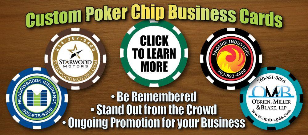 Custom logo business cards biz cards pinterest custom logos custom logo business cards custom poker chipsbusiness colourmoves