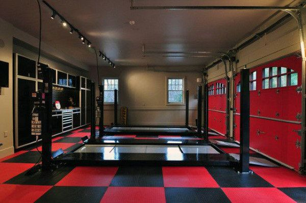 50 Man Cave Garage Ideas Modern To