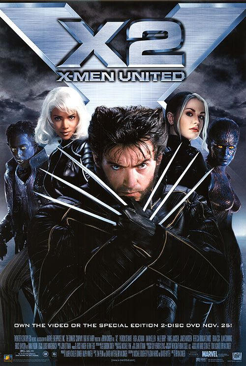 X2 X Men United Superhero Movies Man Movies X Men