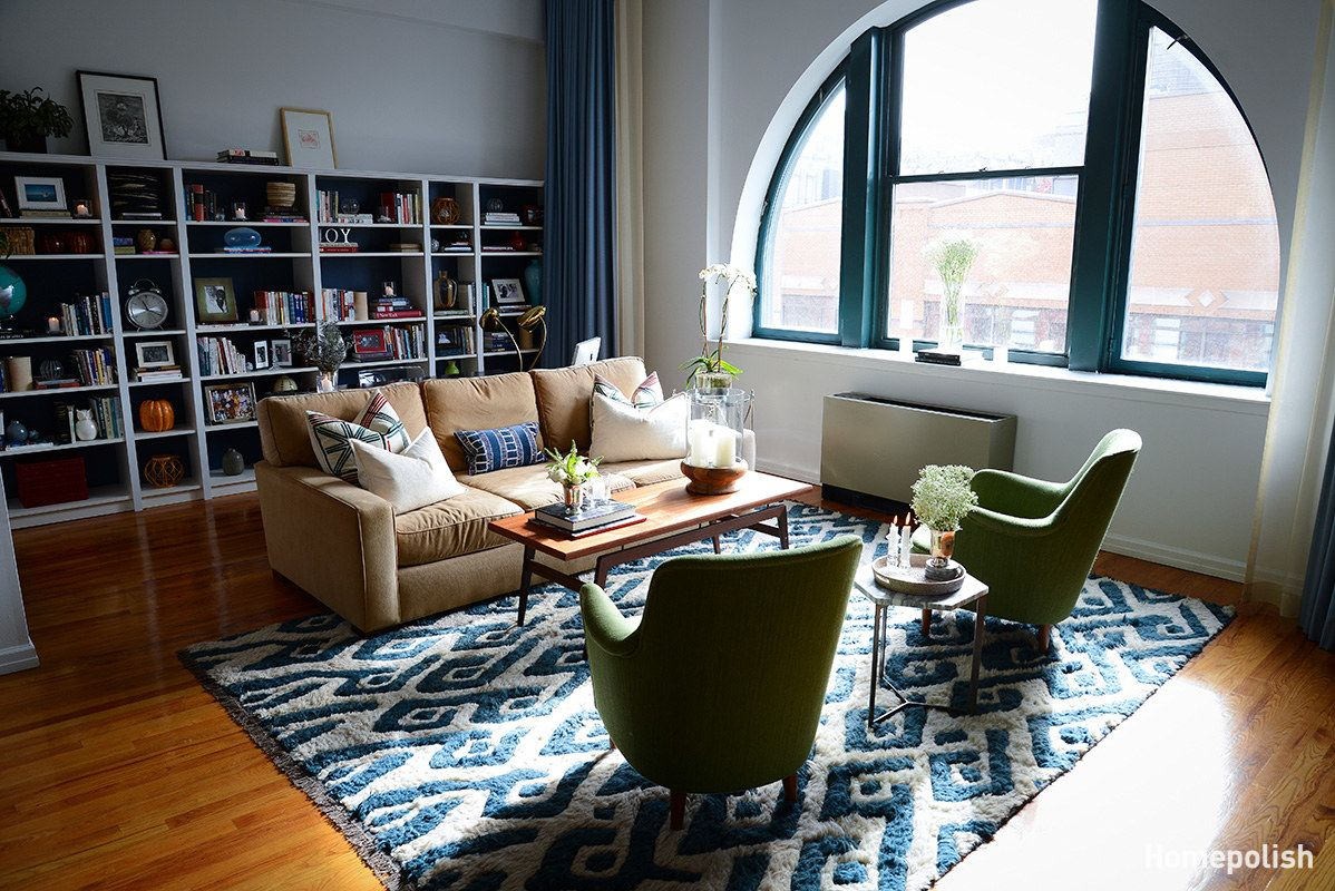 Mid-century and modern - Dapper details breathe new life into a West Village loft @Homepolish NYC