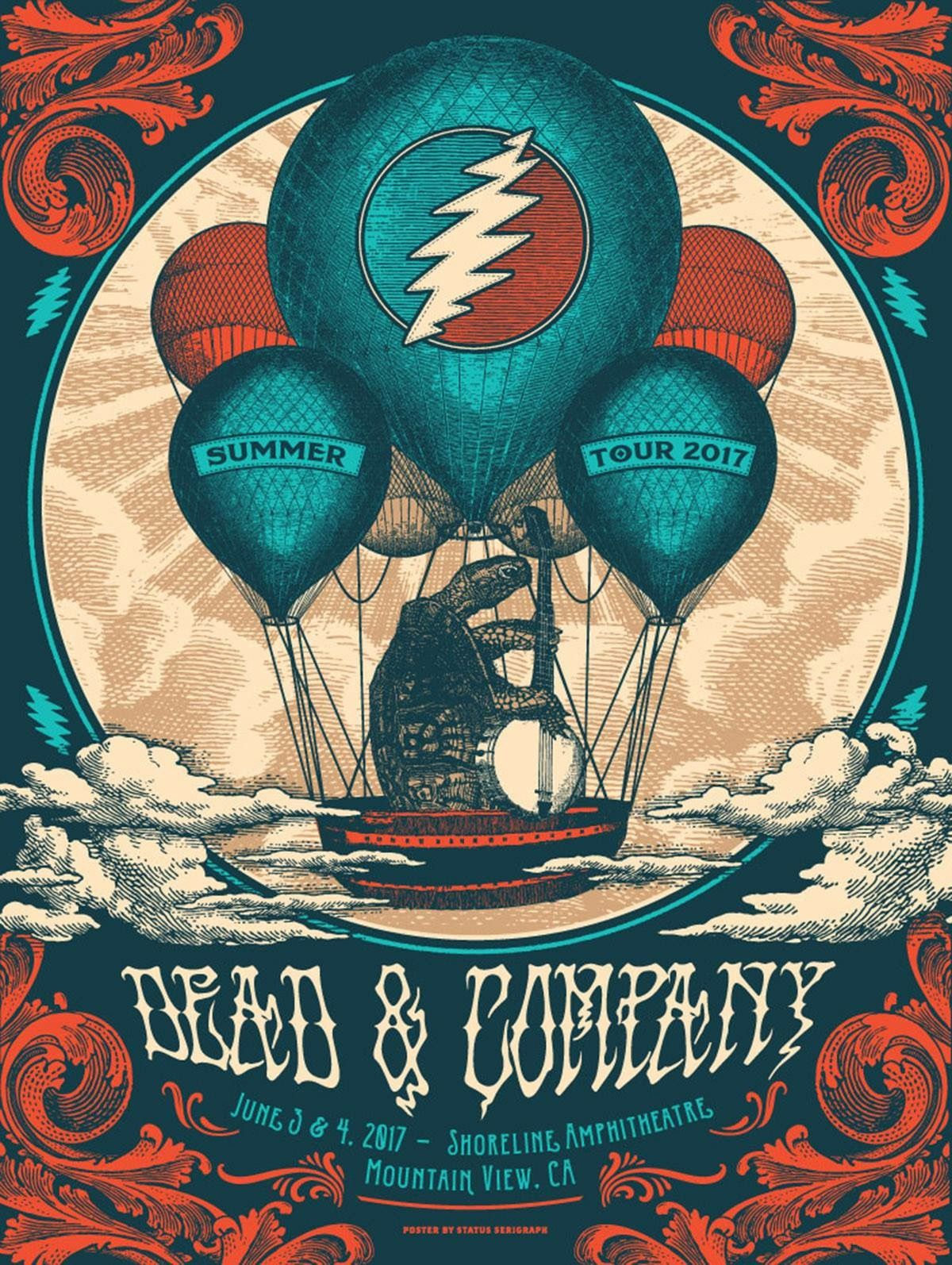 Dead And Company June 3 2017 Shoreline Amphitheater