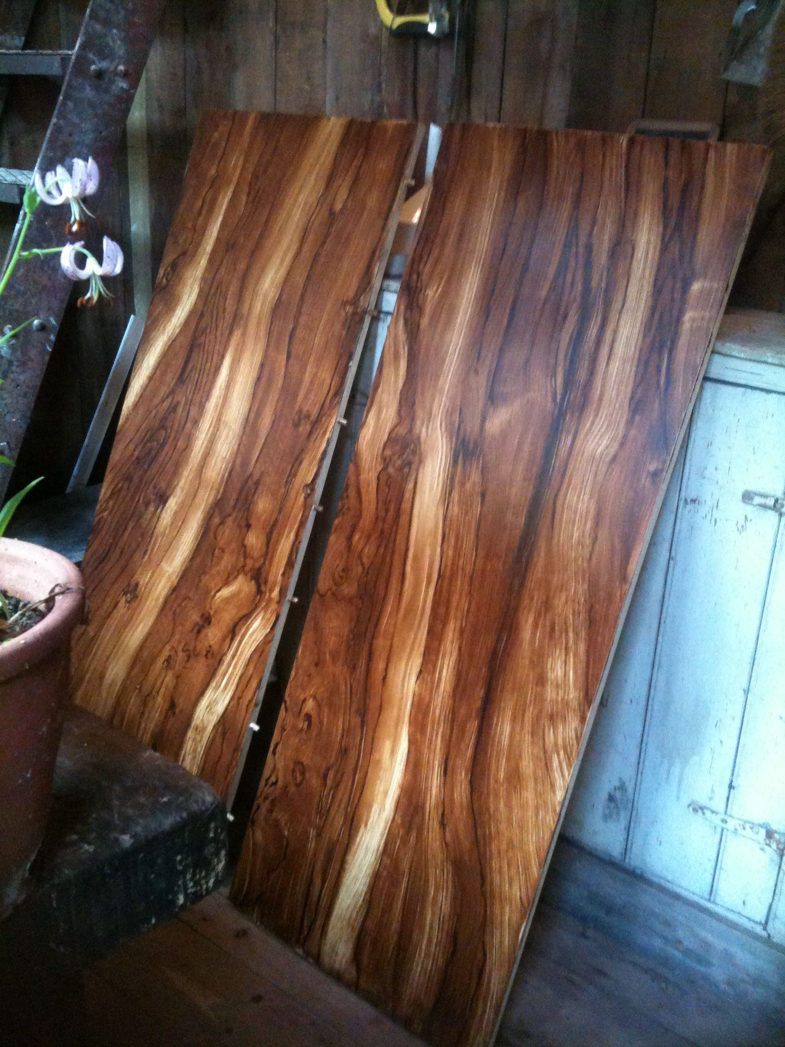Faux Olive Wood Table Top Live Wood Table Wood