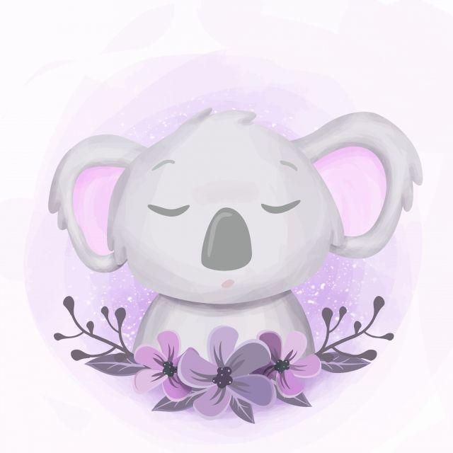 How to Draw a Koala Super Easy and Cute - YouTube |Cute Baby Koala Leg Drawing