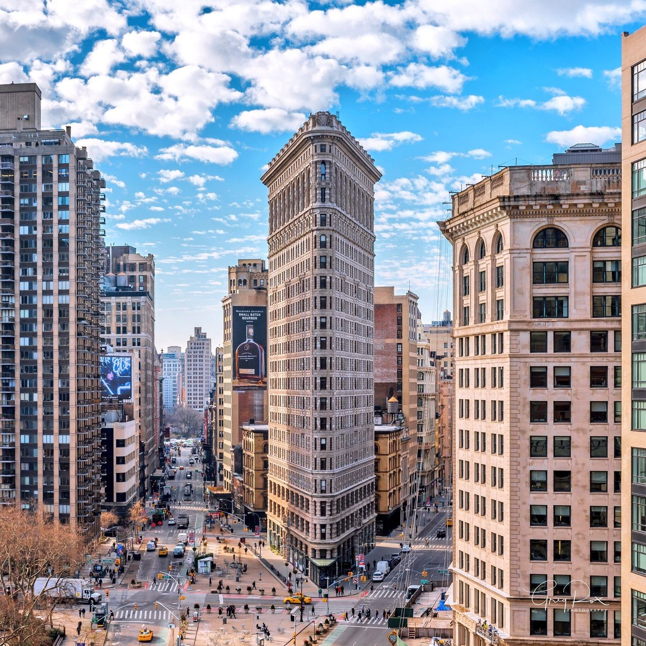 The Beautiful Flatiron Building by Greg Torchia @gregroxphotos | via newyorkcityfeelings.com - The Best Photos and Videos of New York City including the Statue of Liberty Brooklyn Bridge Central Park Empire State Building Chrysler Building and other popular New York places and attractions.