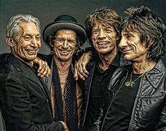 Rolling Stone Magazine Art - Rolling Stones by Riccardo Zullian