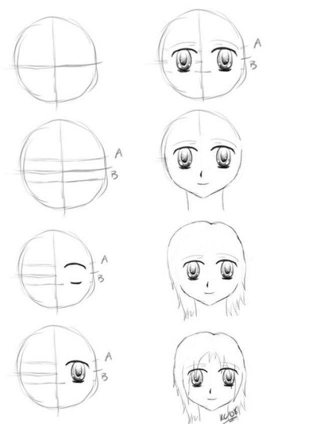 Anime Face Outline All Thecartoons Drawingmaple Story Character Come Face Did But Now I Anime Drawings For Beginners Anime Drawings Anime Character Drawing