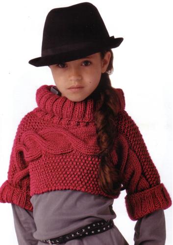5f5d57896a20 Bergere de France Cropped Jumper Knitting Pattern