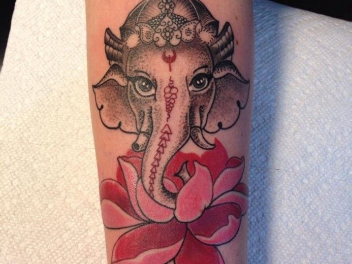 Indian Elephant Tattoo An Awesome Choice For Tattoo Designing Tattoos For Guys Men Flower Tattoo Indian Elephant Tattoo