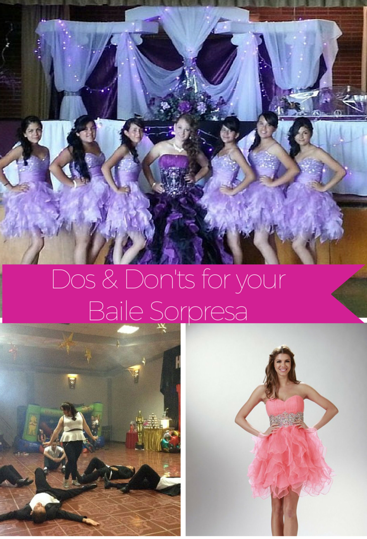 Baile Sorpresa | Surprise Dance | Quinceanera dress | Dama Dresses | Music