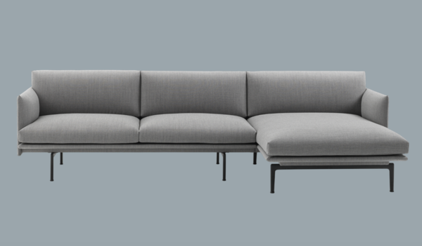 Outline Sofa Chaise Lounge By Muuto Chaise Sofa Sofa Chaise