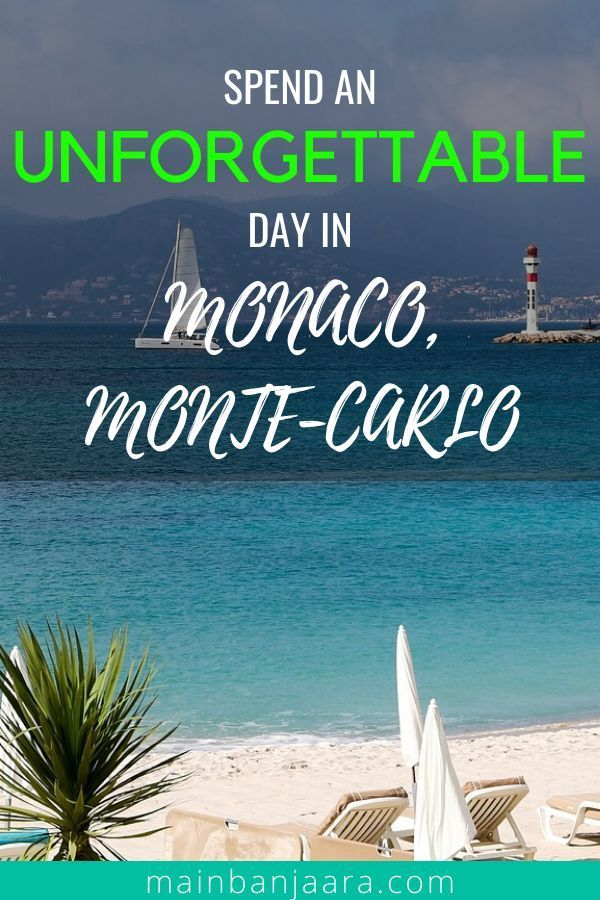 Find out all the best things to do in Monaco for first-time visitors! We have compiled the top tourist attractions in Monaco you must not miss when you visit. Plan your trip now and read this post for more information! | travel destinations european france #monaco #montecarlo #europeanvacation #SouthofFrance #Frenchriviera