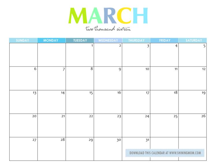 free printable your lovely 2016 calendars 2016 calendar free