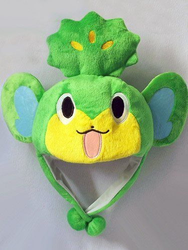 Pokemon: Pansage Monkey Aviator Costume Hat by Pokemon. $12.95. It's a great item for all Pokemon Masters!. This is a costume hat from the popular game series, Pokemon!. And the aviator style will keep your head and ears warm! It's a soft fleece and fully lined that is very conformable to wear!. Featuring the elemental monkey Pansage - the hat even has ears and a sprout atop its head just like the character!. Available as one size fits most. Approx. 25-inches ar...