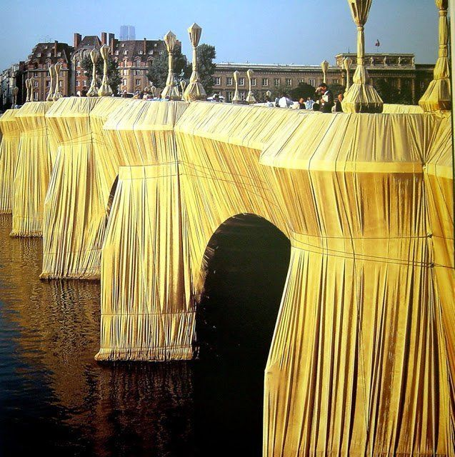 The Pont Neuf Wrapped By Christo 1985 Photos Art In