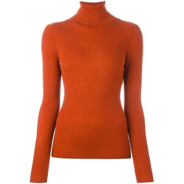 fa7769dcb05 Vanessa Bruno Turtleneck Sweater (370 AUD) ❤ liked on Polyvore featuring  tops