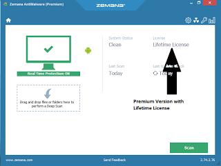 zemana anti malware premium license key 2018