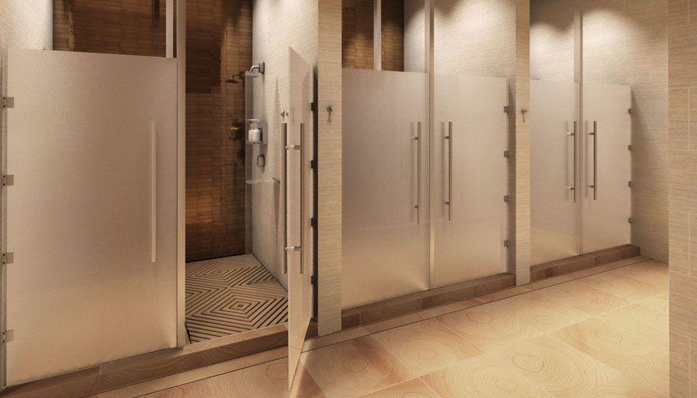 Marina Del Ray Equinox Showers  Interiors  Pinterest  Equinox Amazing Gym Bathroom Designs Decorating Inspiration