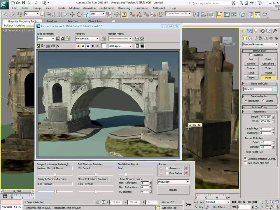 Importing a google Sketchup Model to 3D MAX