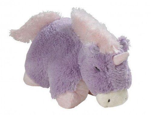 Magical Unicorn Lavender Pillow Pets Large Chenille Plush Stuffed Animal New   eBay